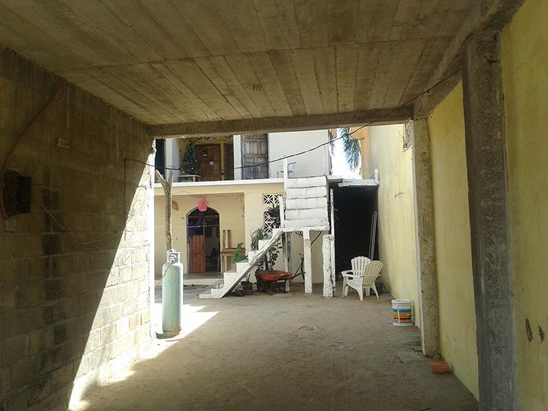 мексиканский дворик
