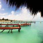 Пляжи Канкуна без волн(1-9 км) — моя фото-видео прогулка