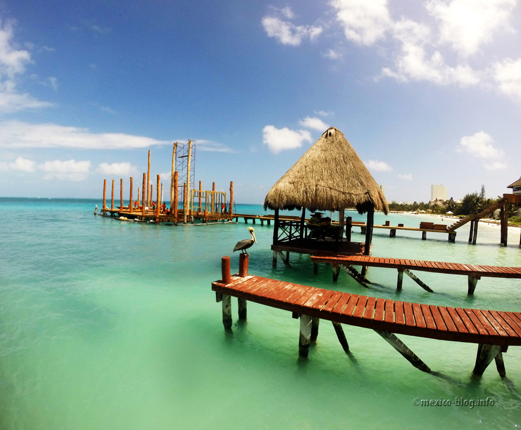 причал на берегу Карибского моря