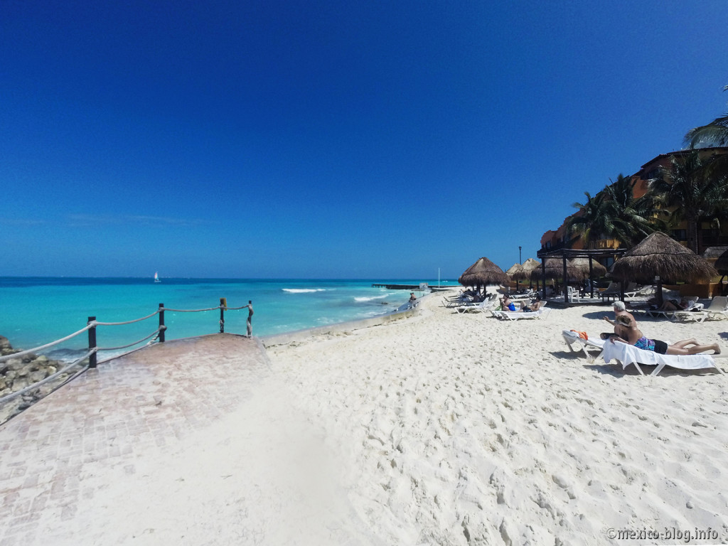 Пляжи Канкуна. Пляж Тортугас