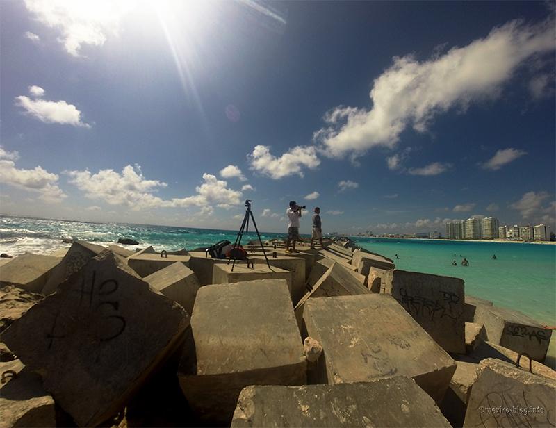 Канкун. Фотосессия на пляже Гавиота Асуль