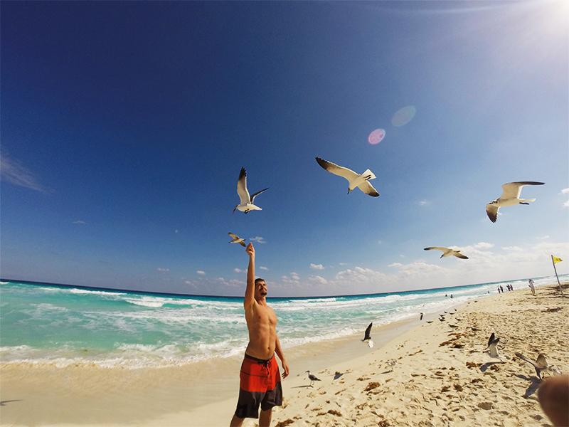 Пляжи Канкуна - пляж Марлин